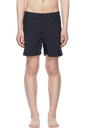Noah NYC Navy Core Swim Shorts