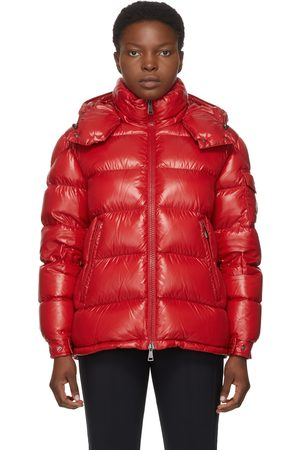Moncler Dames Donsjassen - Red Down Maire Coat