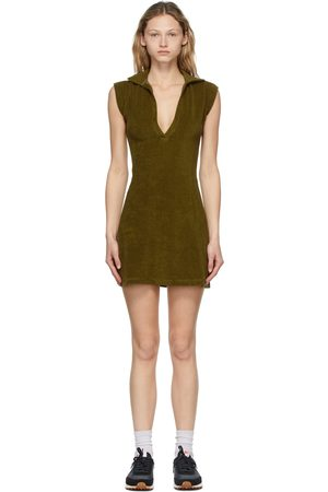 Gil Rodriguez SSENSE Exclusive Green Terry Coco Tennis Dress
