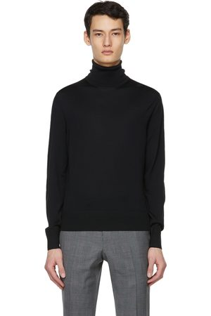 Tom Ford Black Fine Merino Turtleneck