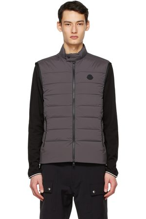 Moncler Grey Down Gordes Vest