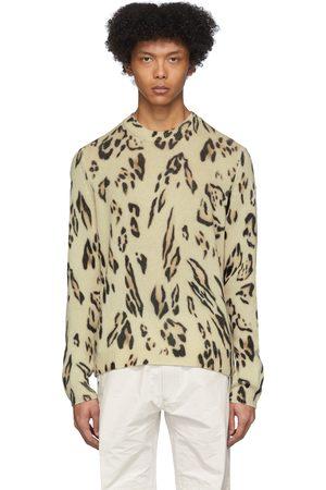 Moncler Genius 2 Moncler 1952 Cashmere Leopard Sweater