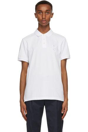 Moncler Heren Poloshirts - White Logo Polo