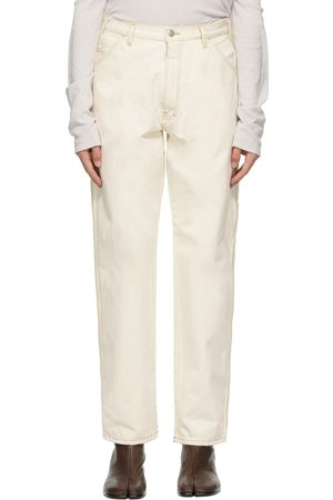 Maison Margiela Heren Jeans - Off-White Workwear Jeans
