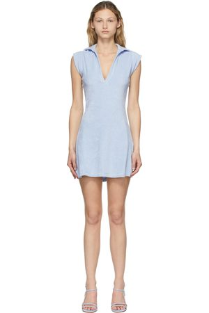 Gil Rodriguez Blue Terry Coco Tennis Dress