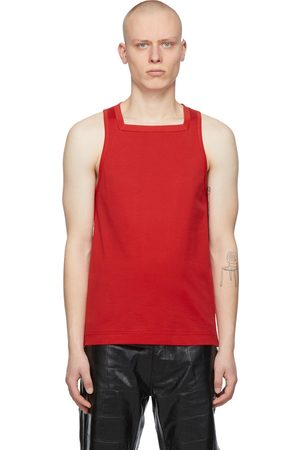 Givenchy Heren Tops - Red Square Tank Top