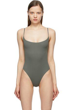 SKIMS Grey Fits Everybody Cami Bodysuit