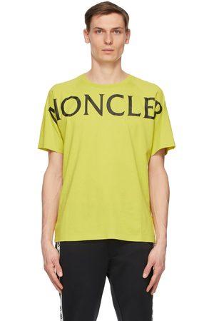 Moncler Green Matt Black Logo T-Shirt