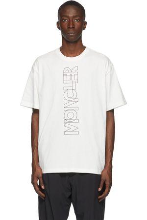 Moncler Heren T-shirts - Off-White Logo T-Shirt