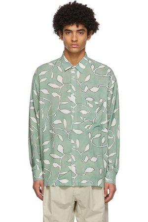 Jacquemus Green 'La Chemise Baou' Shirt