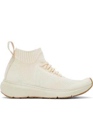 Rick Owens White Veja Edition Sock Runner Sneakers