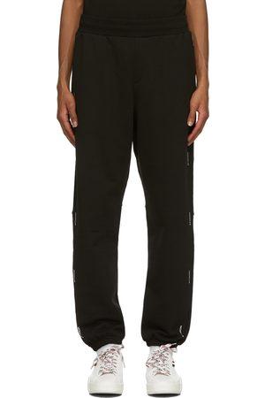 Moncler Heren Broeken - Black French Terry Lounge Pants