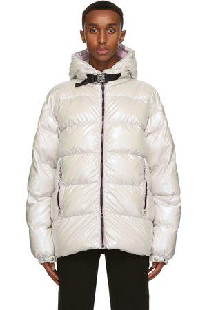 Moncler Genius 6 Moncler 1017 ALYX 9SM Silver Down Iridescent Buckle Jacket