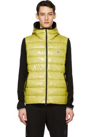Moncler Yellow Down Lappe Vest