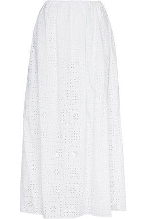 MATTEAU Broderie Anglaise maxi skirt
