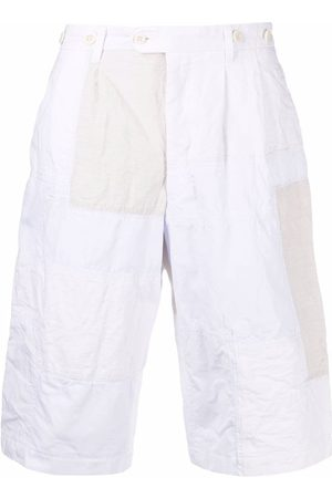 JUNYA WATANABE Patchwork knee-length shorts