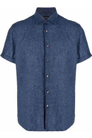 Ermenegildo Zegna Linen short-sleeve shirt