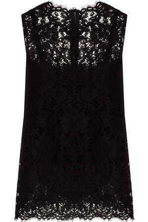 Dolce & Gabbana Sleeveless lace top