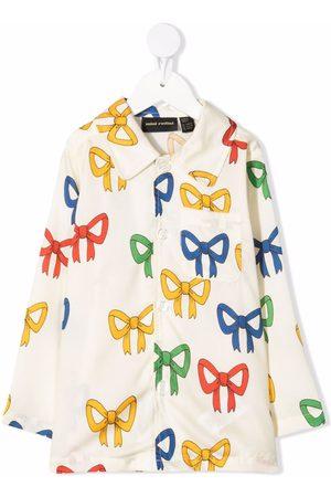 Mini Rodini Bow-print shirt