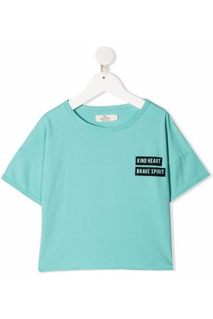 Le pandorine Logo crew-neck T-shirt