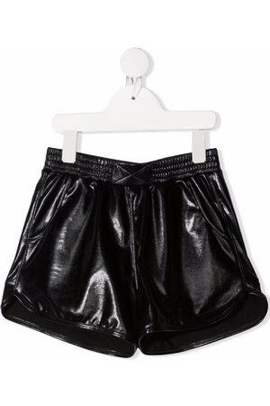 Le pandorine Meisjes Shorts - Biker-effect fitted shorts