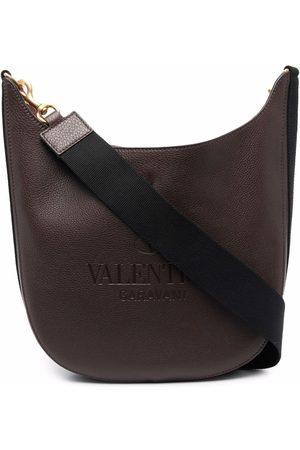 VALENTINO GARAVANI Debossed-logo shoulder bag