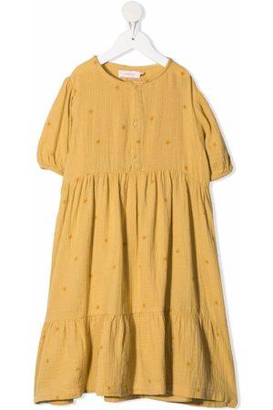 Tiny Cottons Meisjes Casual jurken - Star-print tiered dress
