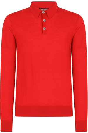 Dolce & Gabbana Heren Lange mouw - Long-sleeve polo shirt