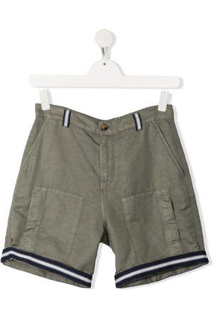 Brunello Cucinelli TEEN contrasting-trim shorts