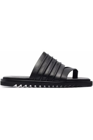 Rick Owens Square-toe leather sandals