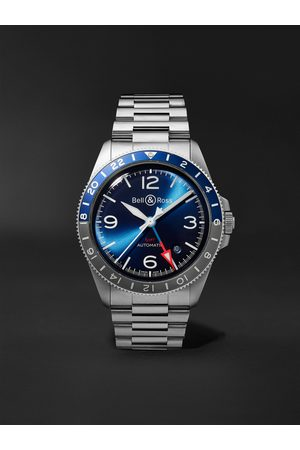 BELL & ROSS BR V2-93 Automatic 41mm Stainless Steel Watch, Ref. No. BRV293-BLU-ST/SST