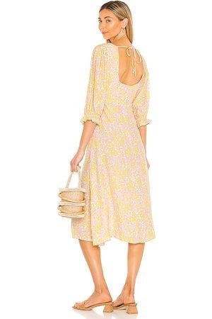 FAITHFULL THE BRAND Clement Midi Dress in