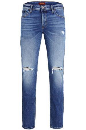 JACK & JONES Heren Slim - Tim Originele Spk 001 Slim/straight Fit Jeans Heren