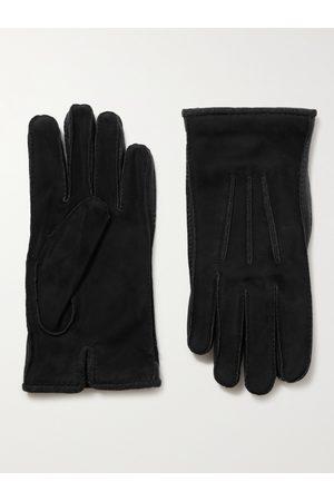 Loro Piana Heren Handschoenen - Damon Baby Cashmere-Lined Suede Gloves