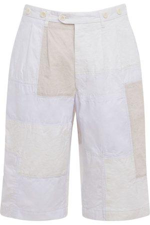 JUNYA WATANABE Heren Shorts - Cotton Blend Canvas & Nylon Shorts