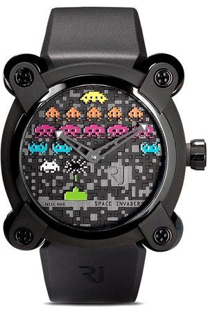 Rj Watches Heren Horloges - Moon Invader Space Invaders Pop 46mm