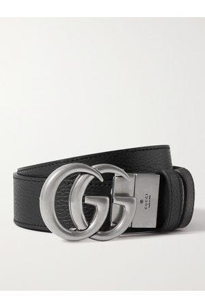 Gucci Heren Riemen - 3.5cm Reversible Full-Grain Leather Belt
