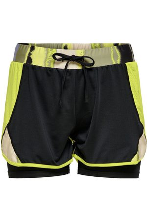 ONLY Contrast Colored Training Shorts Dames Green
