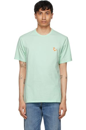 Maison Kitsuné Green Chillax Fox Patch Classic T-Shirt