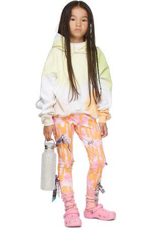 Collina Strada Dames Leggings - SSENSE Exclusive Kids Pink & Orange Bow Leggings