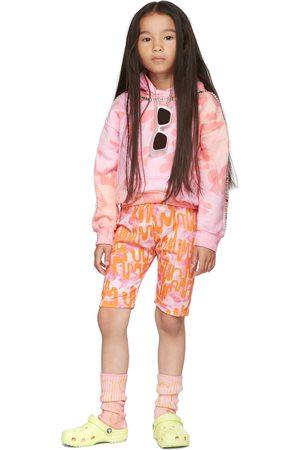 Collina Strada SSENSE Exclusive Kids Pink & Orange Bullseye Bike Shorts