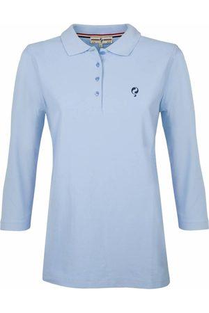 Q1905 Dames Poloshirts - Driekwart polo shirt distance lt azul