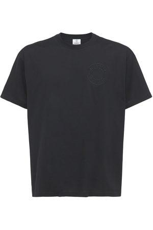 Burberry Logo Print Organic Cotton Jersey T-shirt