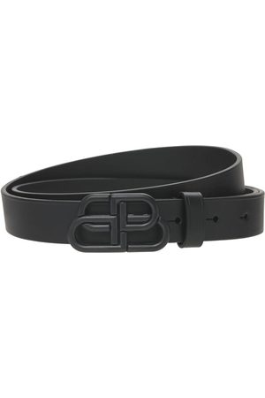 Balenciaga Dames Riemen - Bb Leather Belt
