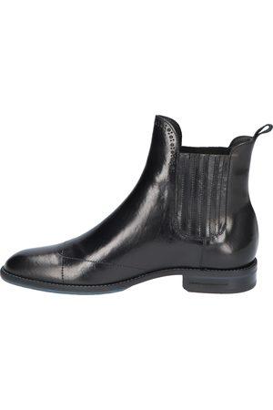 Floris van Bommel Dames Enkellaarzen - 85601 Black F-Wijdte Chelsea boots
