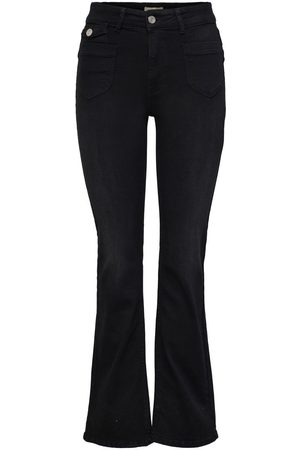 ONLY Onlebba High Waist Knoop Flared Jeans Dames