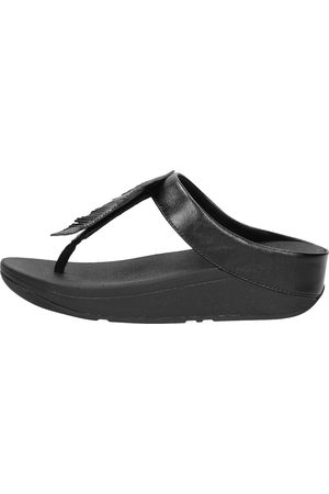 FitFlop Fino Feather Toe-post Sandals