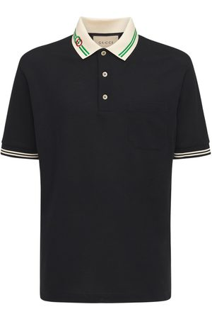 Gucci Heren Poloshirts - Interlocking G Cotton Piquet Polo