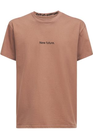 F.A.M.T. Heren T-shirts - New Future Cotton T-shirt
