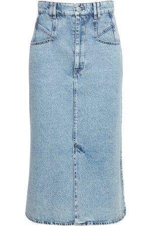 Isabel Marant Dames Midi rokken - Dipoma Cotton Denim Midi Skirt